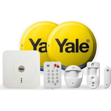 Yale SR-330 Smart Home Alarm & View Kit - compatible with iOS & Android