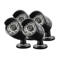 Swann PRO-A850 HD 720p Black Bullet Camera 4 Pack