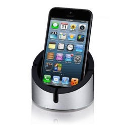 Just Mobile AluCup Stand for iPhone or iPad mini - Black