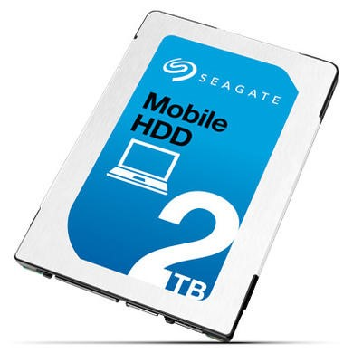 "Seagate Mobile 1TB 2.5"" Internal HDD"