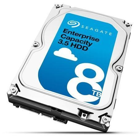 "Seagate Exos 8TB E-Class Nearline Enterprise SATA 3.5"" 512E Hard Drive"