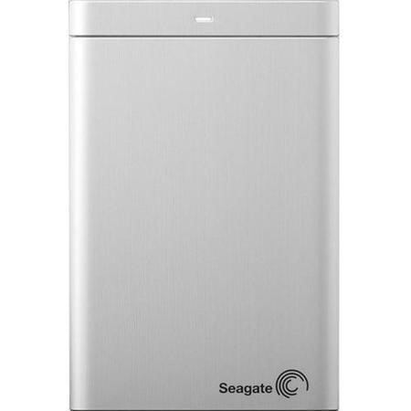 Seagate Slim 500GB USB 3.0 Portable Hard Drive - Silver