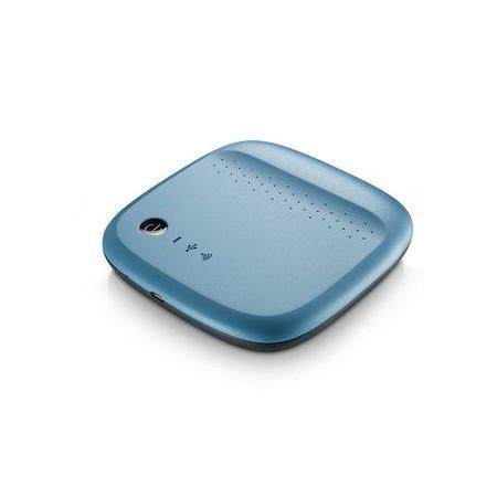 Seagate Wireless 500GB M-Storage Bue