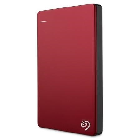 Seagate Retail BackUp Plus 2TB Portable Drive in Red