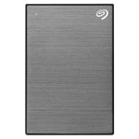 Seagate External 2TB Backup Plus Slim USB-3 Hard Drive - pink