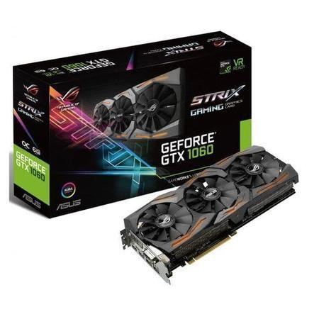 ASUS STRIX GeForce GTX 1060 6GB GDDR5 OC Graphics Card