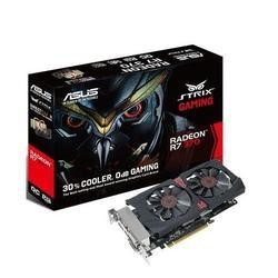 ASUS AMD R7 370 OC STRIX GAMING 1050MHz 5600MHz 2GB 256-bit DDR5 DVI-I/DVI-D/HDMI/DP 2*FAN PCI-E GRAPHICS CARD