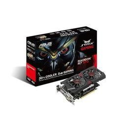 ASUS AMD R7 370 OC STRIX GAMING 1050MHz 5600MHz 4GB 256-bit DDR5 DVI-I/DVI-D/HDMI/DP 2*FAN PCI-E GRAPHICS CARD