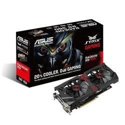ASUS AMD R9 380 OC STRIX GAMING 990MHz 5500MHz 2GB 256-bit DDR5 DVI-I/DVI-D/HDMI/DP 2*FAN PCI-E GRAPHICS CARD