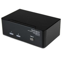 2 Port Dual DVI USB KVM Switch with Audio