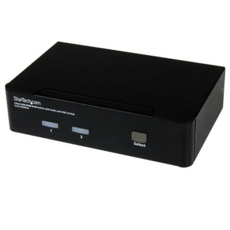 SV231HDMIUA StarTech.com 2 Port USB HDMI® KVM Switch with Audio and USB 2.0 Hub