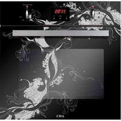CDA SVA150BL Studio Collection Eight Function Electric Single Oven With Black Art Design