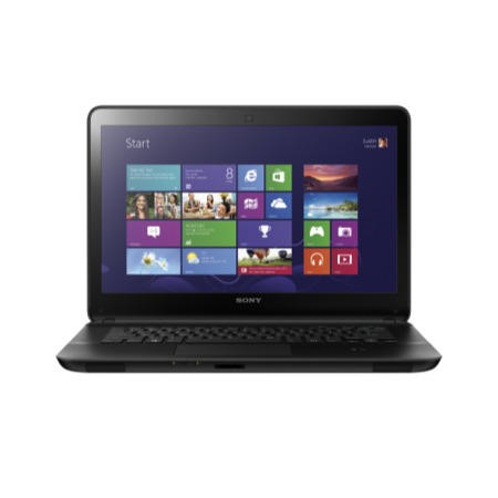 Refurbished Grade A1 Sony VAIO Fit E 14 Core i5 4GB 750GB 14 inch Windows 8 Laptop in Black