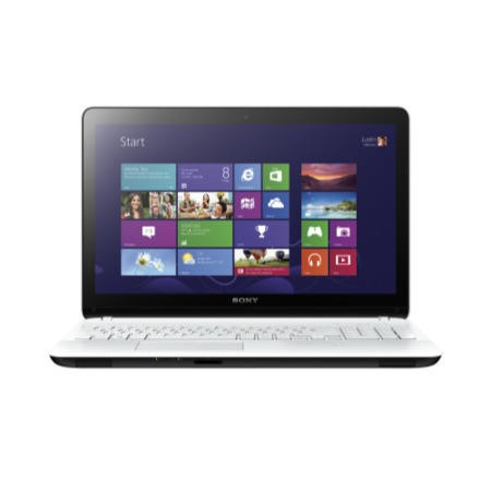 Refurbished Grade A1 Sony VAIO Fit E 15 Core i3 4GB 500GB Windows 8 Touchscreen Laptop in White