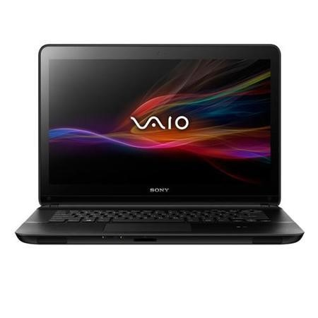 Refurbished Grade A1 Sony VAIO Fit 15 Pentium Dual Core 4GB 500GB Windows 8 Touchscreen Laptop in Black