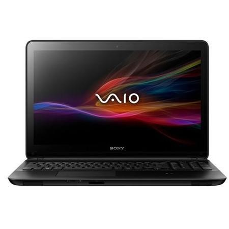 Refurbished GRADE A1 - As new but box opened - Sony VAIO Fit E 15 Core i3 4GB 750GB 15.5 inch Windows 8 Laptop in Black