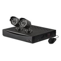 Swann SWA-4D1C12 Professional 4 Channel 960H Digital Video Recorder with 2 x PRO-735 700TVL Cameras & 500GB Hard Drive