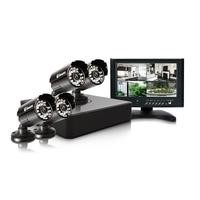Swann 4 channel Mini DVR 500gb HD with 4 X Pro-615 cameras and 7 inch LCD monitor