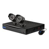 Swann DVR4-1260 4 Channel D1 Digital Video Recorder with 4 x 540TVL Cameras & 500GB Hard Drive