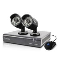 Box Opened A1 Swann DVR4-4400 - 4 Channel CCTV HD 720p Digital Video Recorder & 2 x PRO-A850 Cameras & 500GB Hard Drive