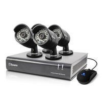 Box Open Swann DVR4-4400 4 Channel HD 720p Digital Video Recorder with 4 x PRO-A850 720p Cameras & 1TB Hard Drive
