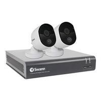 Swann CCTV System - 4 Channel 1080p DVR with 2 x 1080p Thermal Sensing Cameras & 1TB HDD
