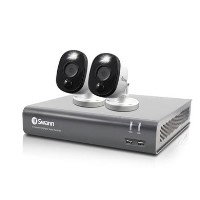Swann CCTV System - 4 Channel Full 1080p HD DVR with 2 x 1080p HD Motion Sensing Cameras & 1TB HDD