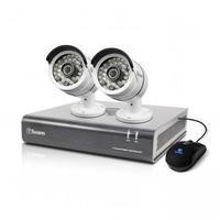 Box Opened A1 Swann DVR4-4600 - 4 Channel CCTV HD 1080p Digital Video Recorder & 2 x PRO-A855 Cameras & 1TB Hard Drive