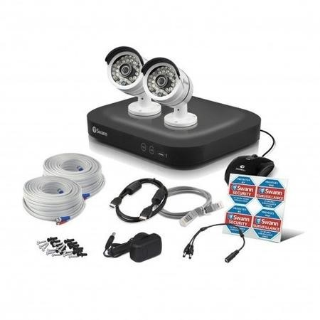 Swann CCTV System - 4 Channel 3MP DVR with 2 x 3MP Cameras & 1TB HDD