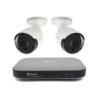 Swann CCTV System - 4 Channel 5MP DVR with 2 x 5MP Heat Sensing Cameras & 1TB HDD