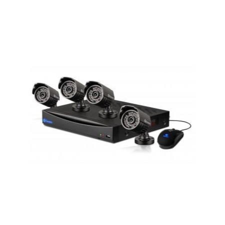 Swann DVR8-3260 8 Channel 960H DVR with 1TB HD and 4 x PRO-735 700TVL