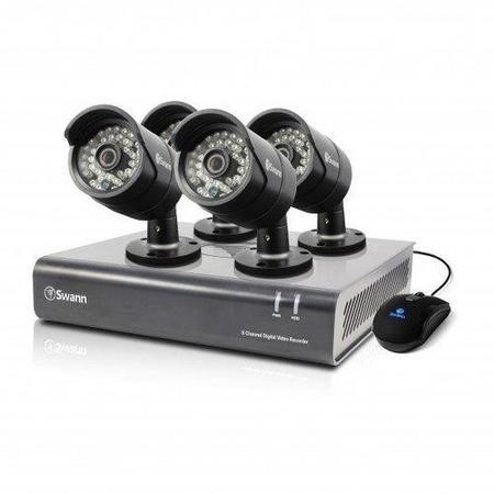 Swann DVR8-4400 - 8 Channel CCTV Security System720p Digital Video Recorder & 4 x PRO-A850 Cameras 1TB Hard Drive