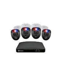 Swann CCTV System - 8 Channel 1080p DVR with 4 x Enforcer 1080p HD Spotlight Cameras & 1TB HDD