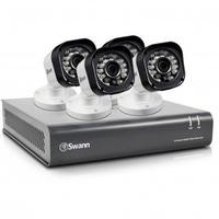 Swann DVR8-1580 8 Channel HD 720p Digital Video Recorder with 4 x PRO-T835 720p Cameras & 500GB Hard Drive