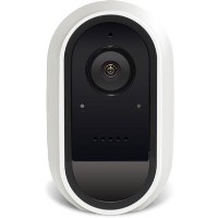 Swann 1080p HD Wireless WiFi Facial Recognition Night Vision White Camera - 1 Pack