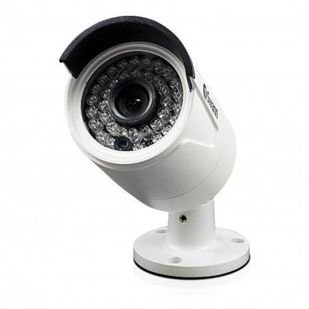 Swann NHD-818 4 Megapixel Super HD Day/Night IP Security Camera - Night vision up to 100ft - 1 Pack