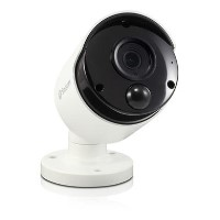 Swann 4K Ultra HD Facial Recognition Audio IP Bullet Camera - 1 Pack