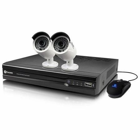 SWNVK-474002-UK Swann CCTV System - 4 Channel 4MP NVR with 2 x 4MP Cameras & 1TB HDD