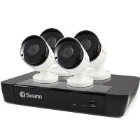 Swann CCTV System - 8 Channel 5MP  NVR with 4 x 5MP Super HD Cameras & 2TB HDD