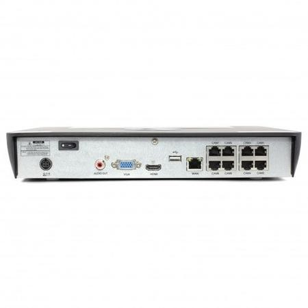 Swann CCTV System - 8 Channel 5MP NVR with 4 x 5MP Thermal Sensing Cameras & 2TB HDD