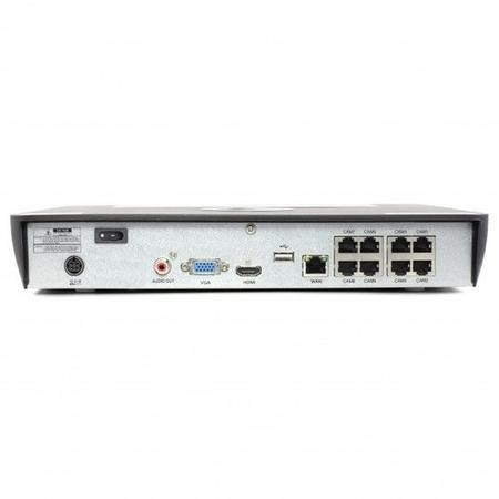Swann CCTV System - 8 Channel 4K Ultra HD NVR with 8 x 4K Cameras & 2TB HDD