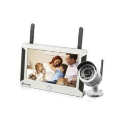 Swann Home & Pet Monitoring System with HD Camera 7 Inch  Touchscreen display + FREE 8GB SD Card