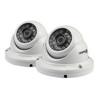 Swann PRO-H856 1080p HD Multi-Purpose Day/Night Dome Camera - Night vision up to 100ft - Twin Pack