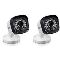 Box Open Swann PRO-T835 HD 720p Bullet Camera - Night vision up to 65ft - Twin Pack