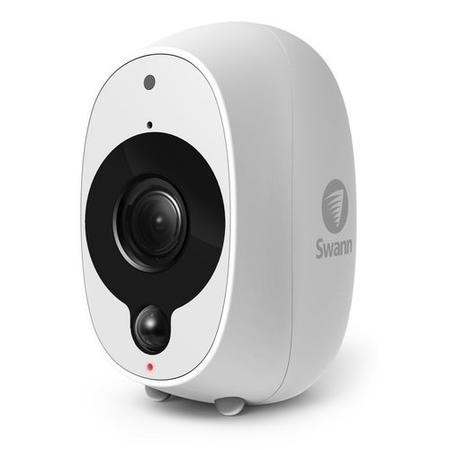 SWWHD-INTCAM-UK Swann InTouch 1080p Full HD Smart Security Camera Wi Fi Camera with Heat/Motion Sensor Night Vision & Audio
