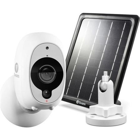SWWHD-INTCMSOLSTD-UK Swann 1080p HD Wireless Security Camera with Adjustable Mount & Solar Panel Bundle