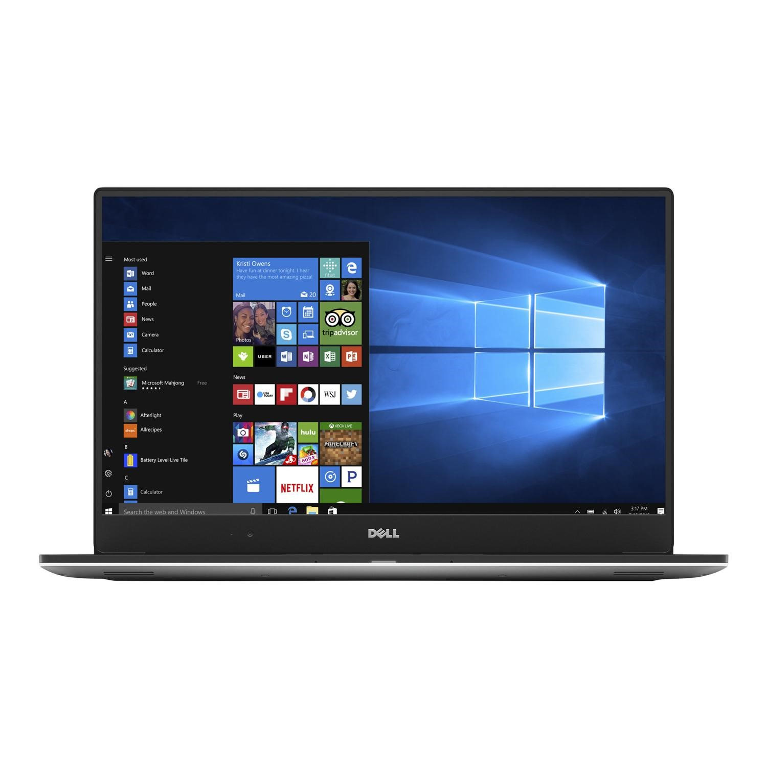 Dell XPS 15 9560 Core i7-7700HQ 16GB 512GB SSD GeForce GTX 1050 15 6 Inch  Windows 10 Professional Touchscreen Gaming Laptop