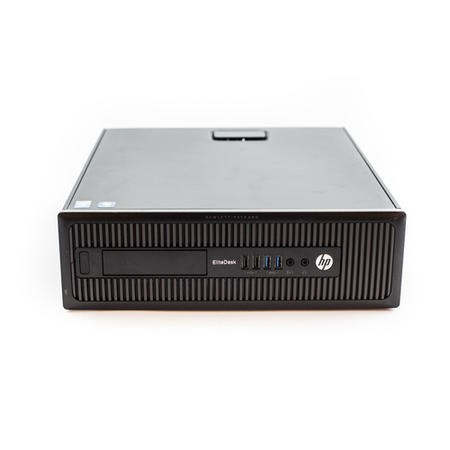 T1/HPED800-MU-T002/2YR Refurbished HP EliteDesk 800 G1 Core i5-4570 3.20GHz 128GB SSD 4GB DVDRW Windows 10 Professional Desktop With 2 Year Warranty