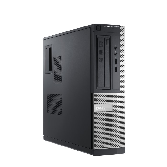 Refurbished Dell Optiplex 390 Intel Core i3-2120 4GB 250GB Windows 10  Professional Desktop with 1 Year Warranty