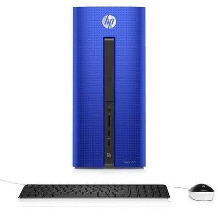 Hewlett Packard HP Pavilion 550-231na Core i3-6100 8GB 1TB Windows 10 Blue Desktop